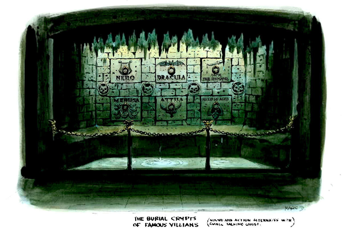 Burial Crypt of Famous Villains