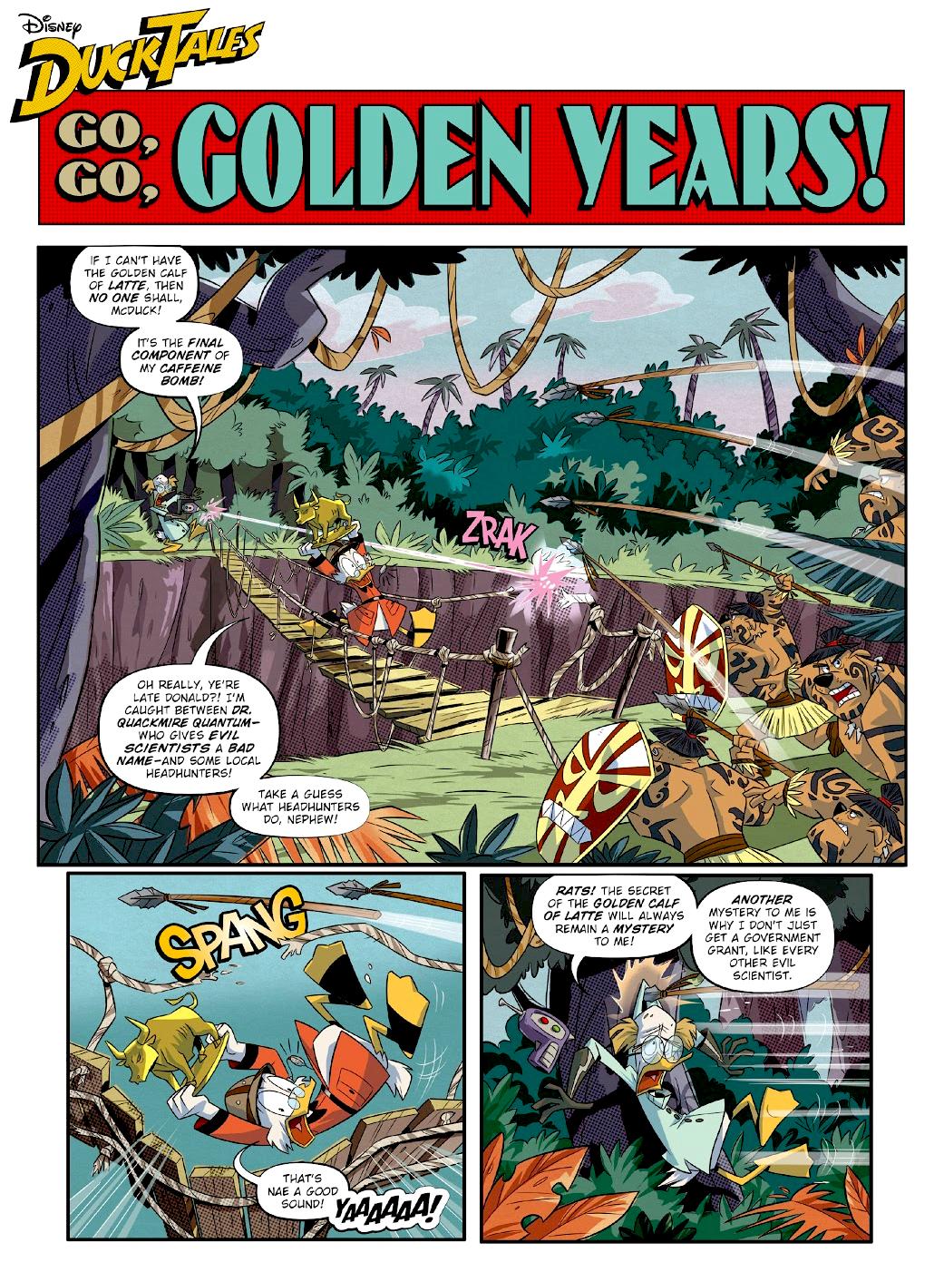 Go, Go, Golden Years!