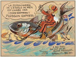 Spirou et le Poisson Express