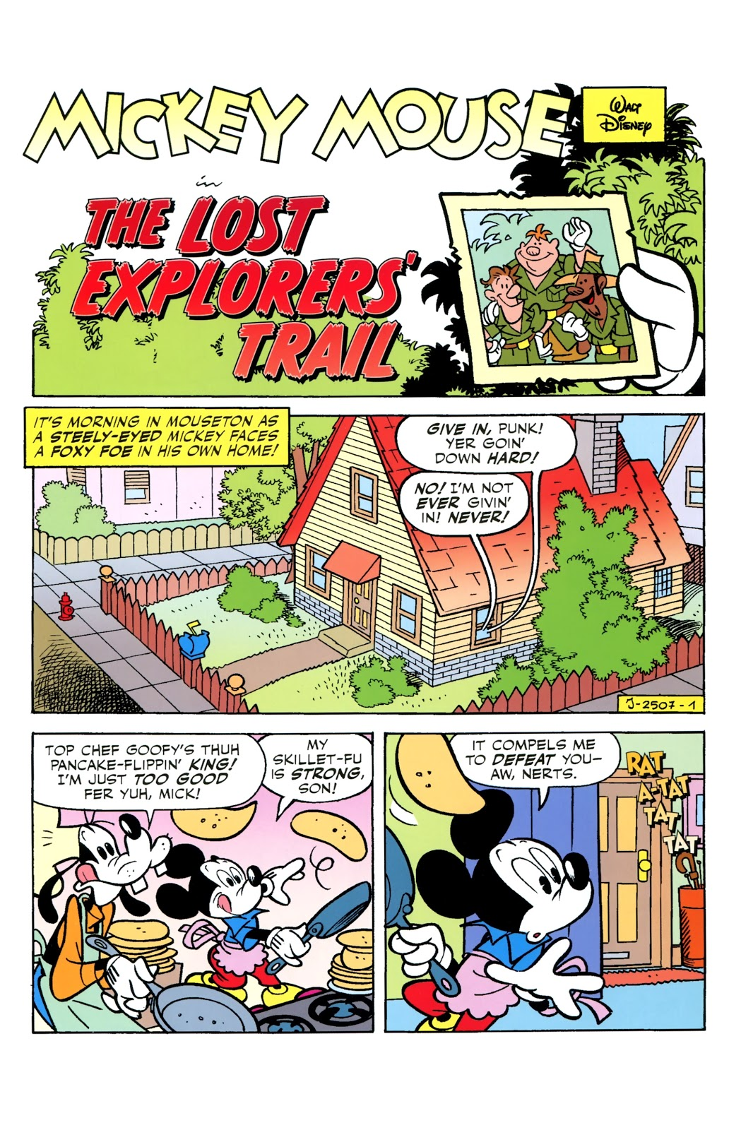 The Lost Explorers' Trail
