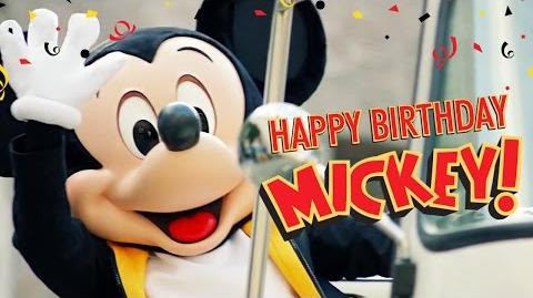 Mickey's Birthday Trip Around the World 2016