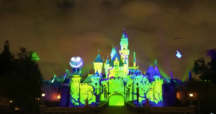 Halloween Screams: A Villainous Surprise in the Skies