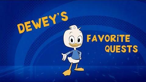 Dewey's Favorite Quests