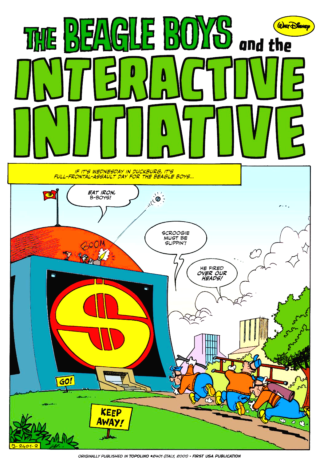 The Beagle Boys and the Interactive Initiative