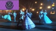 """""""Creepy Cotillion"""" show from Haunted Mansion 50th Anniversary event at Disneyland"""