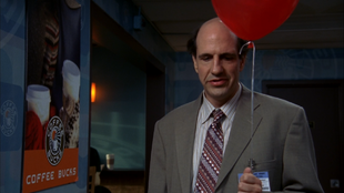 8x1 Ted with balloon