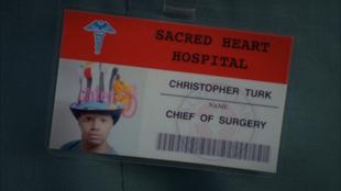 8x17 Turk's name badge