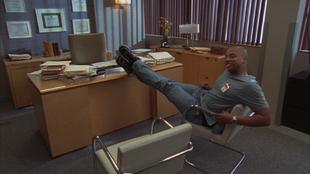 8x16 Turk in Cox's office