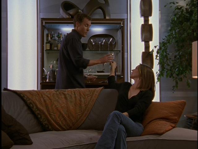 Dr. Cox's apartment