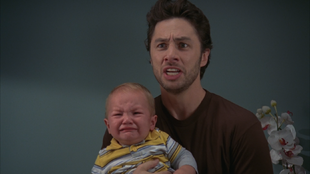 8x16 angry JD crying Sammy