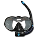 Diving Mask With Breathing Tube.png