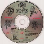 Gwar scumdogs of the universe disc