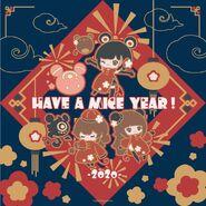 New year 2020 - Nolva, Alice, Neko