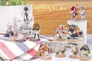Sdorica X Deemo merch - Alice, Masked Girl, Deemo, Sione SP, Angelia, Pang, Tica, Puggi, Kittyeyes SP