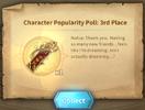Character Poupularity Poll 2019 3rd Place - Nolva