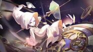 """Melody Infuse """"Masked Girl"""" Falling into a slumber as the clock ticks..."""