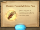 Character Poupularity Poll 2019 2nd Place - Pang
