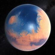 Mars-watery