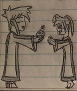 Dionicio giving Everett a Mago