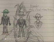 Kiyosho Original sketches