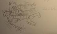 Gehst sketch in battle