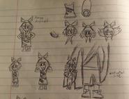 14 yrs old Xaya sketch 1
