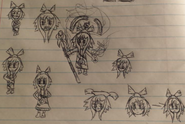 14 yrs old Xaya sketch 2