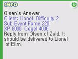 Olsen's Answer Quest