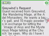 Greywind's Request Quest