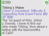 Tirbing's Maker Quest