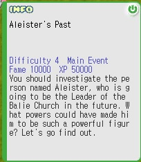 Aleister's Past Quest