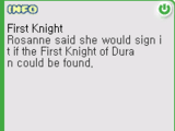 The First Knight Quest