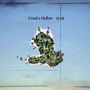 Sea of Thieves map 0015 Q19 Crooks Hollow