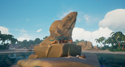Sea of Thieves - Fin rock on Shark Bait Cove.png