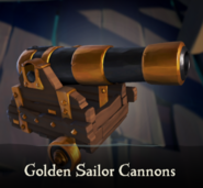 Sea of Thieves - Golden Sailor Cannons
