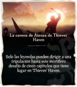 La carrera de Atenea de Thieves' Haven.png