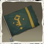 Bandera de los Acaparadores de Oro inv.png