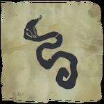 Conjunto de tatuajes de escama de serpiente.png
