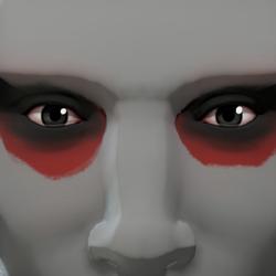 Maquillaje gruñón de los aventureros oscuros.png