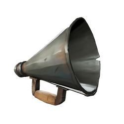 Trompeta parlante de marinero