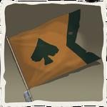 Bandera de Lobo de Mar rufián inv.png