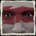 Blooded Warrior Makeup inv.png