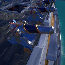 Triumphant Sea Dog Cannon