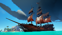 Collectors Blighted Set Galleon.png