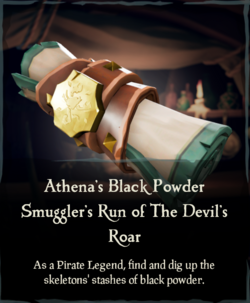 Athena's Black Powder Smuggler's Run of The Devil's Roar.png