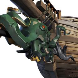 Venomous Kraken Figurehead