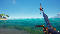 Merchant Alliance Fishing Rod equipped.png