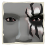 Face of Fear Makeup inv.png