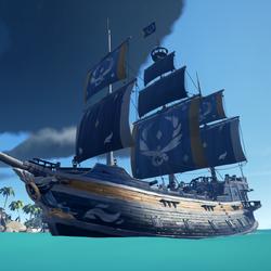 Triumphant Sea Dog Hull