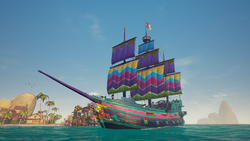 Collector's Paradise Garden Set Galleon.png